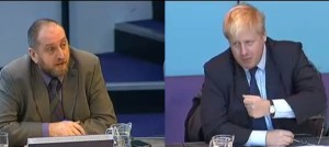 Darren Johnson asks Boris